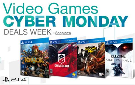 playstation   xbox  games cyber monday deals