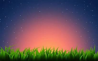 Wallpapers Windows Night Grass Wishes Illustration Desktop
