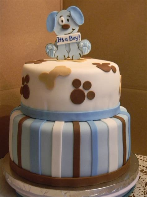 puppy themed baby shower puppy theme baby shower cakecentral