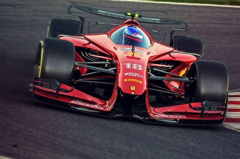 Ferrari 2025 Fantasy F1 Concept At 2025 F1 Fantasy Cars