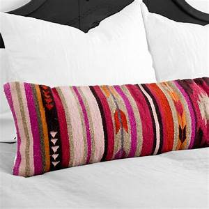 Lumbar Decorative Pillow Colorful Geometric Pattern