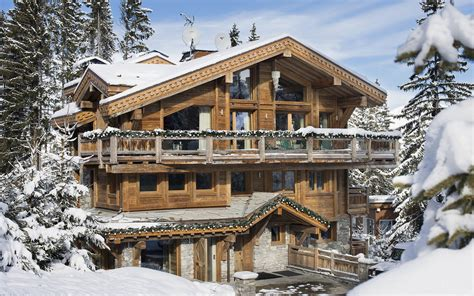 luxury ski chalet chalet owens courchevel 1850 firefly collection