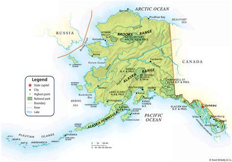 map  alaska alaska political map map tools print
