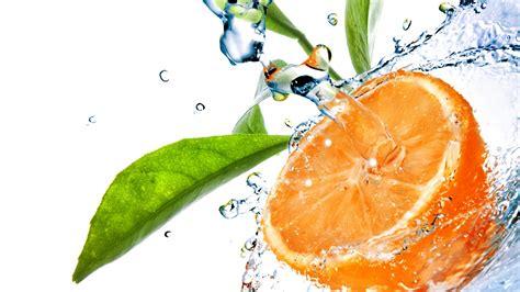 1080p Orange Fruit Wallpaper Hd by Hd Wallpaper Orange Leaf Drop Water Desktop