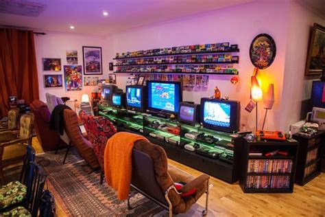 The Geekiest Of Retro Games Rooms Arcade Punks
