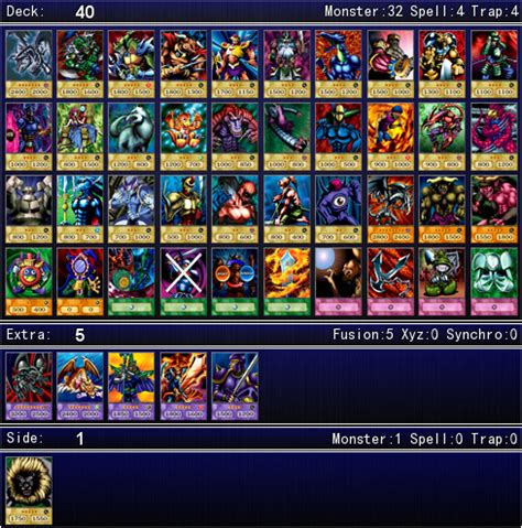 Yugioh Joey Structure Deck by Joey Wheeler S Duelist Kingdom Deck For Ygopro By