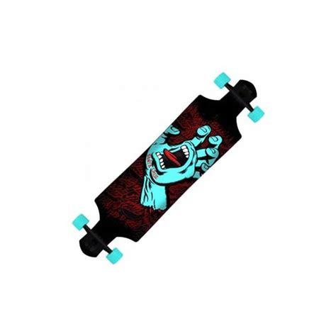 downhill longboard decks uk santa skateboards santa screaming drop