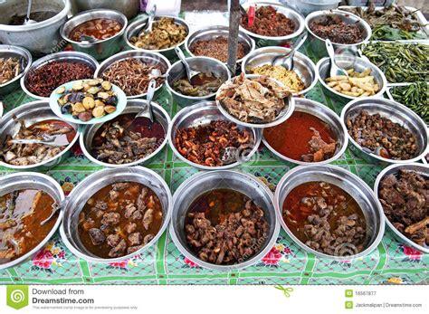 cuisine asie nourriture de cari de cuisine de myanmar birmanie yangon