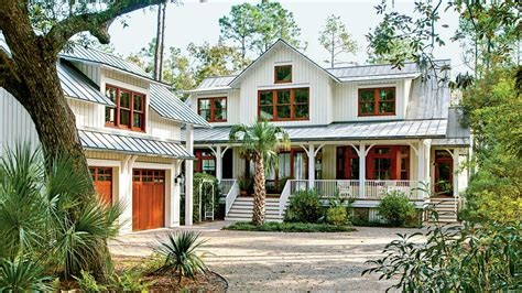 Vintage Style Southern California Home by Lowcountry Style House Southern Living