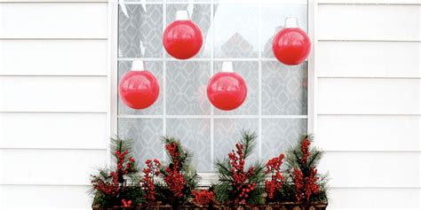 oversized christmas ornaments tutorial    large