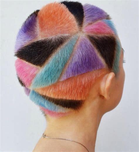 Rainbow Hair 30 Crazy Rainbow Hair Color Inspirations