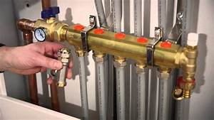 Closed Loop Hydronic Heating System Radiant Heat Manifold