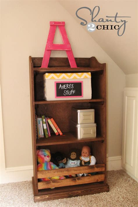 diy bookcase pottery barn kids inspired shanty  chic
