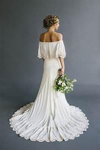 best bohemian wedding dresses ideas on pinterest boho With bohemian wedding bridesmaid dress