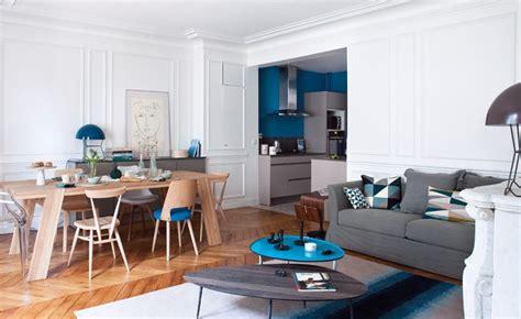 cuisine ouverte sur salle à manger et salon salon ouvert sur cuisine dco salon cuisine moderne