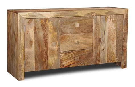 Wooden Sideboards Uk by Large Solid Mango Wood Sideboard Trade Furniture