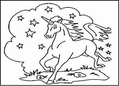 Coloring Pages Printable Unicorn Children Unicorns Bestcoloringpagesforkids