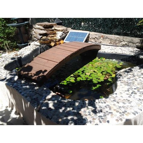pompe solaire de bassin 1500 litre par heure aliment 233 e