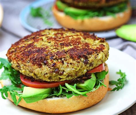 veggie burger veggie burger with cauliflower contentedness cooking