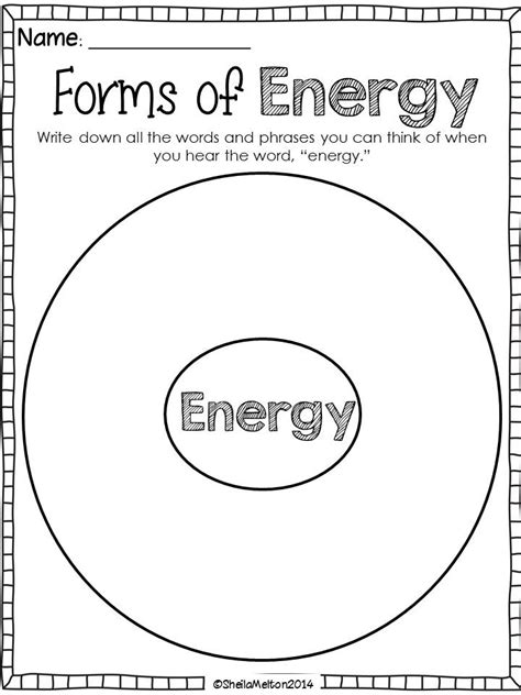 science energy worksheets for 2nd grade form of