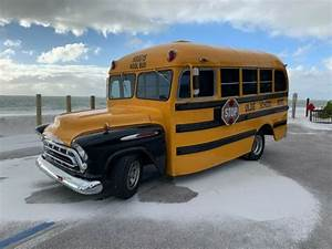 Real  Not Chopped  1957 Chevy Shorty School Bus Survivor Viper V10 Restomod