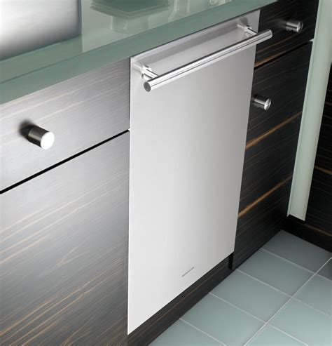ge monogram zbdnss   stainless steel built  fully integrated dishwasher