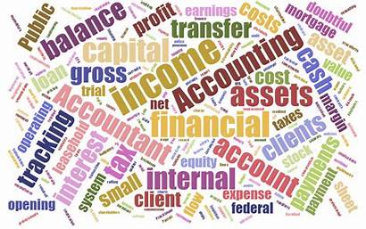 Accounting Word Vocabulary Clouds Cloud Glossary Virtual