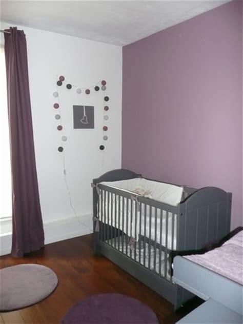 chambre beige et mauve chambre bébé chocolate