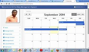 Online Diary Management System | Free source code ...