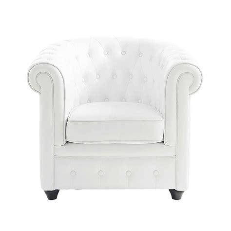bureau blanc moderne fauteuil capitonné blanc chesterfield maisons du monde
