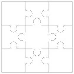 free jigsaw puzzle template clipart best