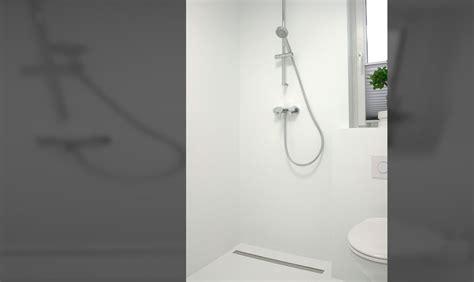 Duschbereich Ohne Fliesen by G 228 Stebad Ohne Fliesen Wir Bauen Unser Haus