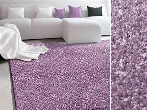 lila teppich harzitecom With balkon teppich mit barbara becker tapete glitzer