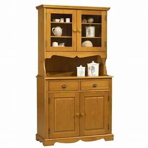 Buffet Vaisselier Pas Cher : buffet vaisselier pin miel de style anglais beaux meubles pas chers ~ Melissatoandfro.com Idées de Décoration