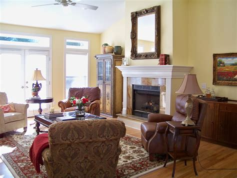 the comforts of home french country living room before