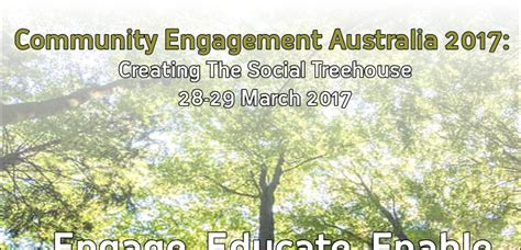 Community Engagement Australia 2017 Creating The Social