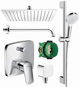 Unterputz Armatur Badewanne : hansgrohe logis unterputz duscharmatur set ibox armatur mit brausesta ~ Sanjose-hotels-ca.com Haus und Dekorationen