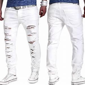 ⓪2017 NEW denim ᗗ ripped ripped jeans for men skinny ...