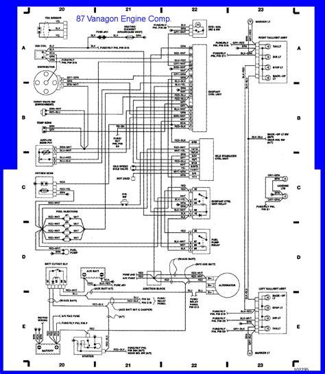 Vanagon Wiring Diagram Ingition Module by Vanagon Fuse Panel Diagram Search Vanagon Tech