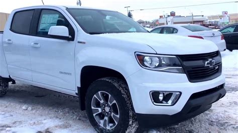 Z71 Colorado Diesel by 2017 Chevrolet Colorado Crew Cab Z71 With Turbo Diesel