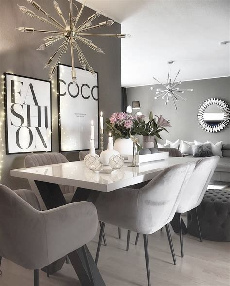 stunning dining room inspo  marble home
