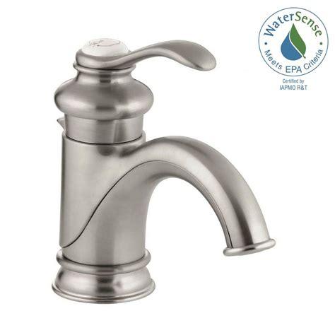 kohler vessel sink faucets kohler fairfax single hole single handle low arc bathroom