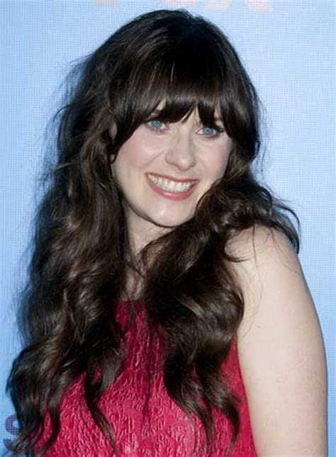 curly hairstyles  fringe