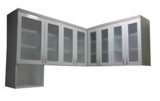 l type hanging cabinet