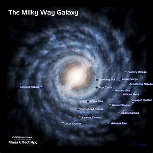 NASA Galaxy Map - Pics about space