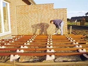 Terrasse Auf Stelzen Bauanleitung : wpc unterkonstruktion selber bauen anleitung in 4 schritten ~ Whattoseeinmadrid.com Haus und Dekorationen