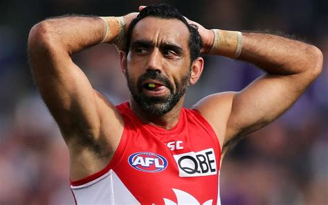 He was named australian of the year in 2014. Adam Goodes doesn't know if he'll ever watch another game of AFL   7NEWS.com.au