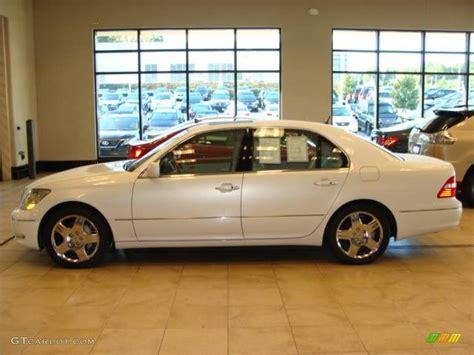 lexus sedan 2005 2005 moonlight pearl lexus ls 430 sedan 19011565