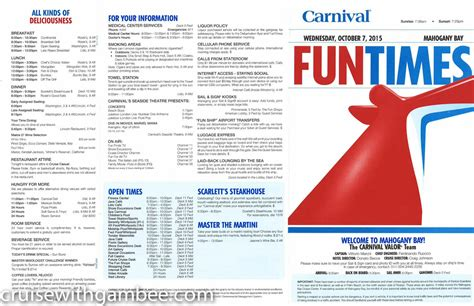 Carnival Valor Deck Plans 2015 by 30 Pics Carnival Cruise Valor Activities Punchaos