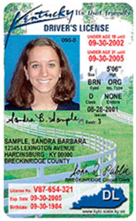 Ky Transportation Cabinet Division Of Driver Licensing by Kentucky Awards L 1 Driver License Contract Secureidnews